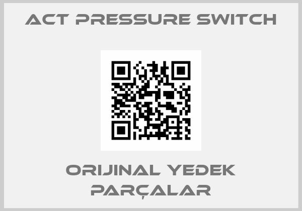 ACT PRESSURE SWITCH