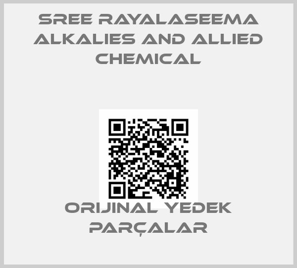 SREE RAYALASEEMA ALKALIES AND ALLIED CHEMICAL