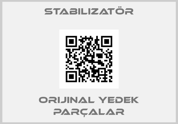 Stabilizatör