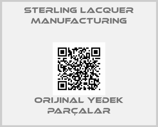Sterling Lacquer Manufacturing