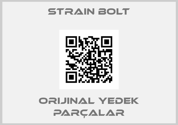 Strain Bolt