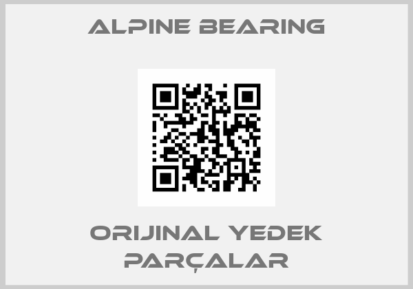 Alpine bearing