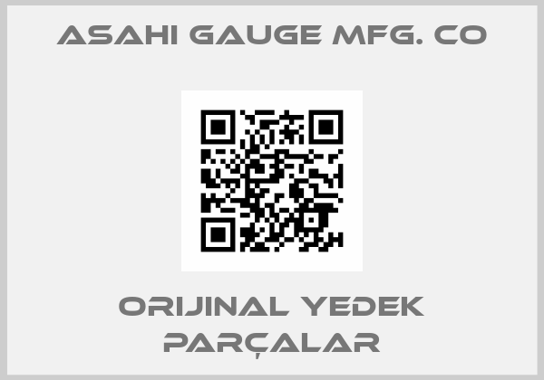 ASAHI GAUGE MFG. CO