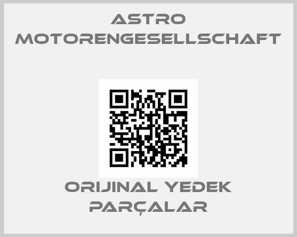 ASTRO MOTORENGESELLSCHAFT